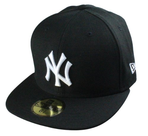 New Era Basic casquette New York Yankees black / white | Taille 7