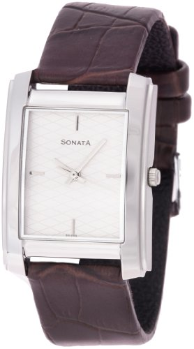 Sonata Classic Analog White Dial Men's Watch - ND7953SL01J