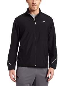 New Balance Men's Sequence Jacket, Black, XXX-Large
