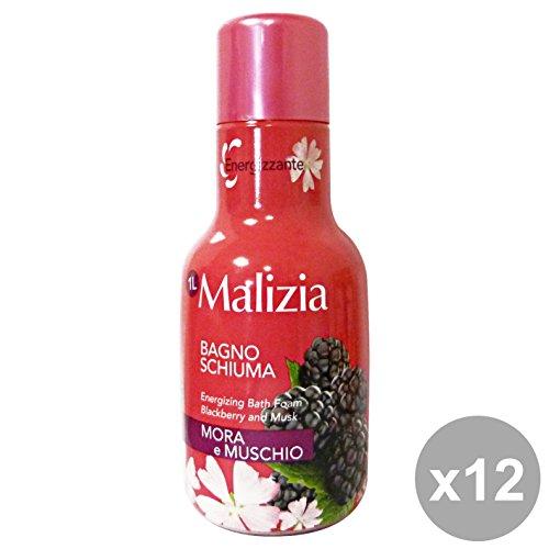 Malicieuse Set 12 bain Mûre et Musc 1 lt. savons et cosmétiques