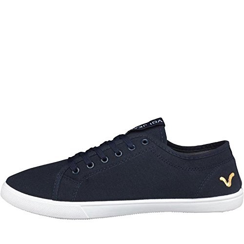 uomini-ragazzi-voi-jeans-sanford-tela-scarpe-da-ginnastica-stringate-decollete-navy-39-eu