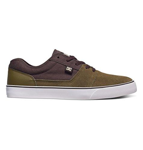 DC TONIK Unisex-Erwachsene Sneakers Military/Dk Choc