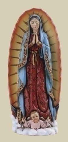 Joseph Studio Renaissance Nuestra Se?ora de Guadalupe Virgen Maršªa Figurilla religiosa