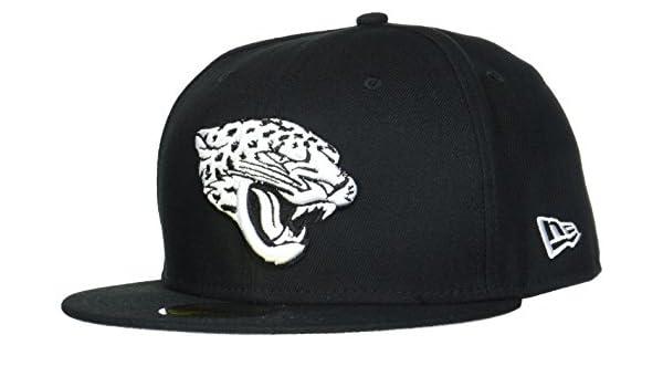 39ac4215f2588 New Era Hommes 59FIFTY Fitted League Basic Jacksonville Jaguars Nfl  Casquette Noir Black  Amazon.fr  Sports et Loisirs