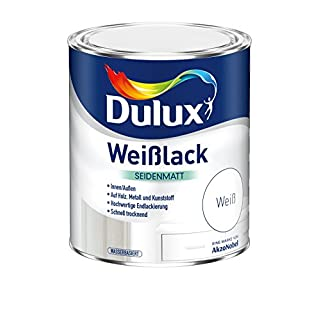 Akzo Nobel (DIY Dulux) Quick Dry Water Based Satin 2,500 Large White 5194723