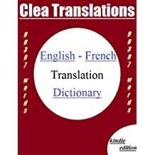 English To French Dictionary (English Edition)