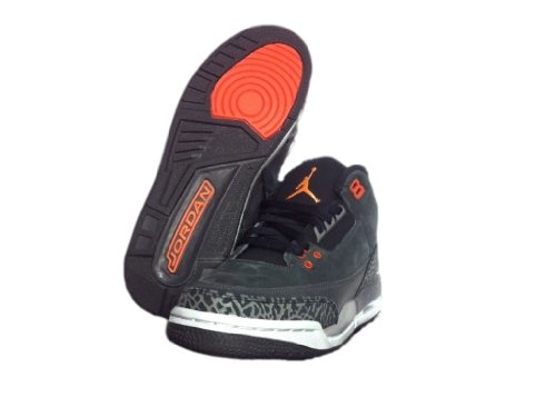 Nike , Chaussures de ville à lacets pour homme Black/orange
