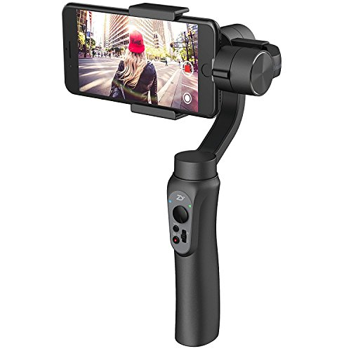 Zhiyun Smooth Q 3 Axis Funkcím gimbal for smartphony Up To 6 no Longer Counterweight Change Free/vertikální Standard 12 Hours Ejecución Tiempo, Knobs for Photo Record/Zoom - Akku 3 Erweiterte Gopro