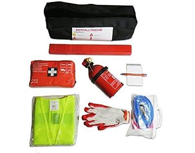 Praktisches Erste-Hilfe-Set (Notfall-Set). Kofferraumtasche passend für X1 E84