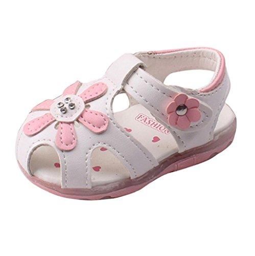 Auxma Prewalker Zapatos Las Sandalias Huecos Las Flores