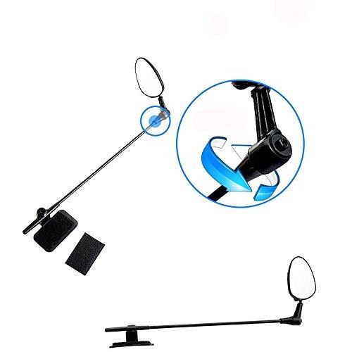 Fahrradspiegel Rückspiegel ,COLORFUL Universal Fahrradhelm Spiegel Einstellbare MTB Rennrad Radfahren Rückspiegel