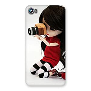 Gorgeous Dolly Pic Multicolor Back Case Cover for Micromax Canvas Fire 4 A107