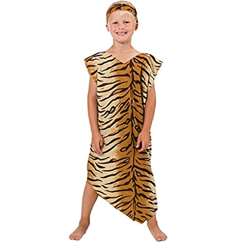 Caveman or Cavegirl Costume for kids one size 5-9