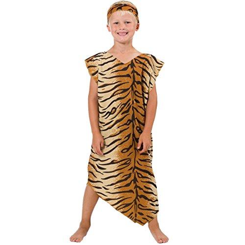 Höhlenmensch Kostüm für Kinder. 5-9 Jahre.