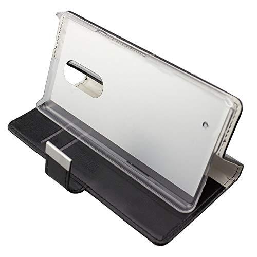 caseroxx Tasche Case Hülle Bookstyle-Case für HP Elite X3 in schwarz