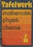 Tafelwerk Klasse 7 bis 10 Lehrbuch DDR