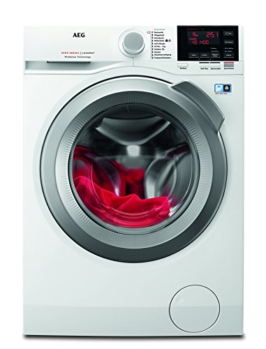AEG LAVAMAT L6FBA68 Waschmaschine / A+++ / 1600 UpM / Mengenautomatik / Startzeitvorwahl / weiß / Frontlader