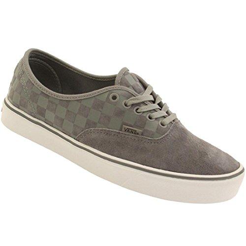 Vans Herren Authentic Lite Check Sneaker Grau