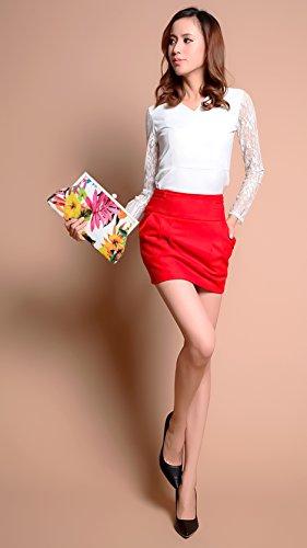 YVGS Donna Crossbody Borsa Tracolla Bag Tote Borsetta Viaggio Moda Multifunzione per Natale Regalo,Compleanni Gift e Matrimoni Shoping - Floreali Floreali