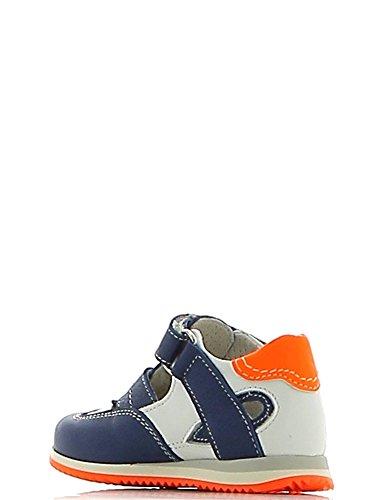Walk Safari , Mädchen Sneaker Blu/Bianco