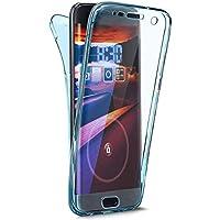 EUWLY Carcasa Huawei P20 Lite, Funda Huawei P20 Lite 360 Grados Ultra Slim Silicona Transparente