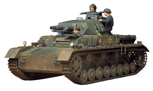 Tamiya 300035096 - 1:35 WWII Deutsche Panzerkampfwagen IV Ausführung D, 3 Stück