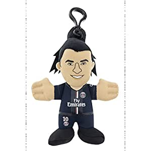 Porte clé Poupluche PSG - Zlatan Ibrahimovic - Collection officielle PARIS SAINT GERMAIN - Taille 10 cm