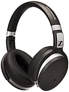 Sennheiser HD 4.50 Cuffia Wireless, Microfonica con Bluetooth, Nero/Argento
