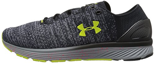 Under Armour Men's Charged Bandit 3 XCB Running Shoes, Black (001)/Steel, 14