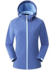 Eono Essentials Women's Mid-Weight Hooded Softshell Jacket