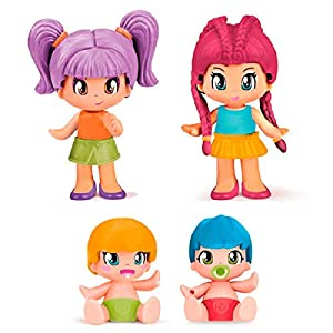 Pinypon- Pack 4 Figuras New