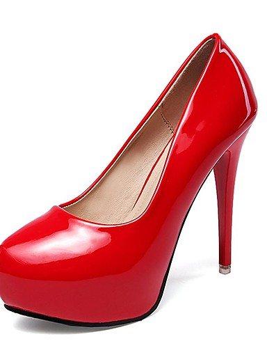 WSS 2016 Chaussures Femme-Mariage / Bureau & Travail / Décontracté / Soirée & Evénement-Noir / Rouge / Blanc-Talon Aiguille-Talons-Talons- white-us5.5 / eu36 / uk3.5 / cn35