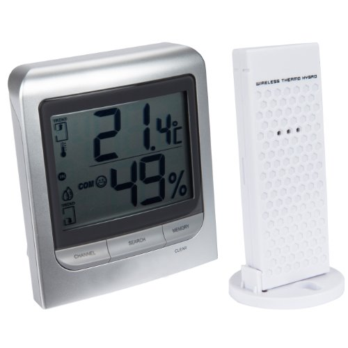 Ultranatura Innen/Außen Thermo-Hygrometer UN 300 mit kabellosem Sensor -