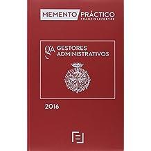Memento Practico Gestores Administrativos 2016