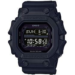 Casio G-SHOCK Reloj Digital, Reloj radiocontrolado y solar, 20 BAR, Negro, para Hombre, GX-56BB-1ER