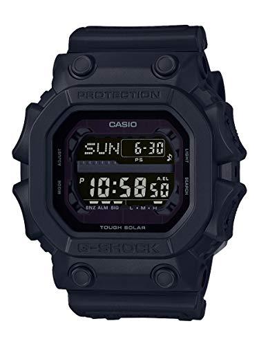 Casio G-Shock Digital Herrenarmbanduhr GX-M56BB schwarz, Solar und Funkuhr, 20 BAR