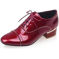 Chaussures à lacets Oaleen rouges femme hnB9ll