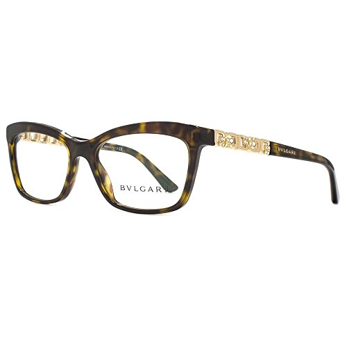 Bulgari Montures de lunettes Pour Femme 4116B - 504  Dark Tortoise - 52mm dfc697f89538