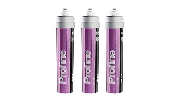 Carbon Block Argento Antibatterico Filtro Profine Violet Medium Riduzione Durezza Temporanea