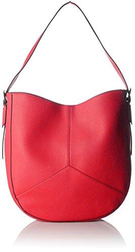 ESPRIT Damen 038ea1o007 Umhängetasche, Rot (Red), 9x36x33 cm
