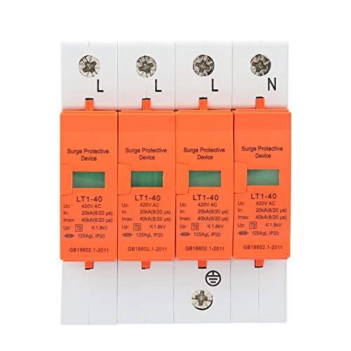 Überspannungsschutz für das ganze Haus, 4P 40kA 420vAC Überspannungsschutz für das Haus Niederspannungsschutzgerät -