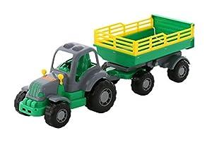 Polesie Polesie44563 - Tractor Duro con Juguete de Remolque no 2