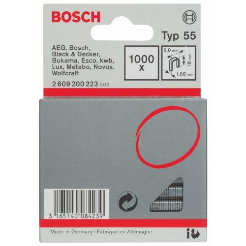 Bosch 2 609 200 223 - Grapa lomo estrecho tipo 55-6