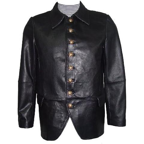 para hombre de costura Paccilo 1036 REGULAR Y GRAN TAMAÑO de cuero Blazer