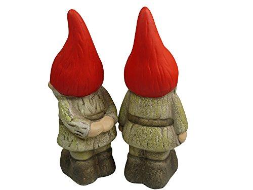khevga Gartenzwerg rote Mütze 2er Set - 2