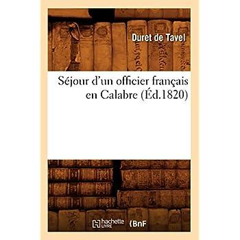 Séjour d'un officier français en Calabre (Éd.1820)