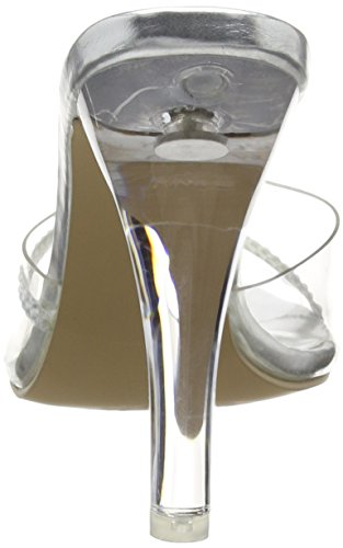 Pleaser Clearly 401r, Sandales femme Transparent (Clr Lucite)
