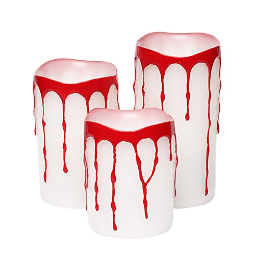 en,Party Tricks Streich Requisiten, Creepy Joke Spielzeug, 7.6x10.2 / 12.7 / 15.2cm, 3er Pack (Halloween-requisiten-dekoration)