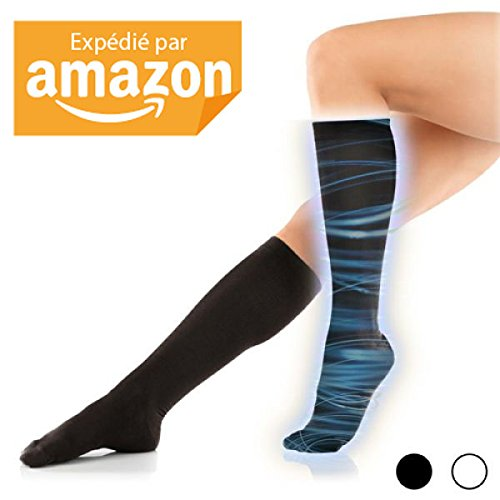 bas-de-contention-chaussettes-compression-varices-retention-deau-antifatigue-noir