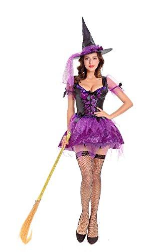Halloween Kostüm erwachsenen weiblichen Assistenten Rolle spielen Cosplay Kostüm Hexe Spiel Stadium Kostüm, zehn tausend und neun